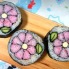 楽しく飾り巻き寿司を手づくりする
