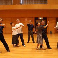 朝のリフレッシュダンス(社交ダンス)