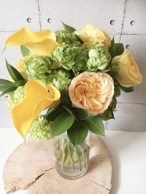 4月:季節の花で作るブーケレッスン